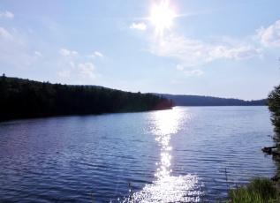 обоя природа, реки, озера, солнце, вода, река