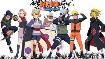 обоя аниме, naruto, персонажи