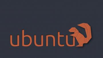 обоя компьютеры, ubuntu linux, фон, логотип
