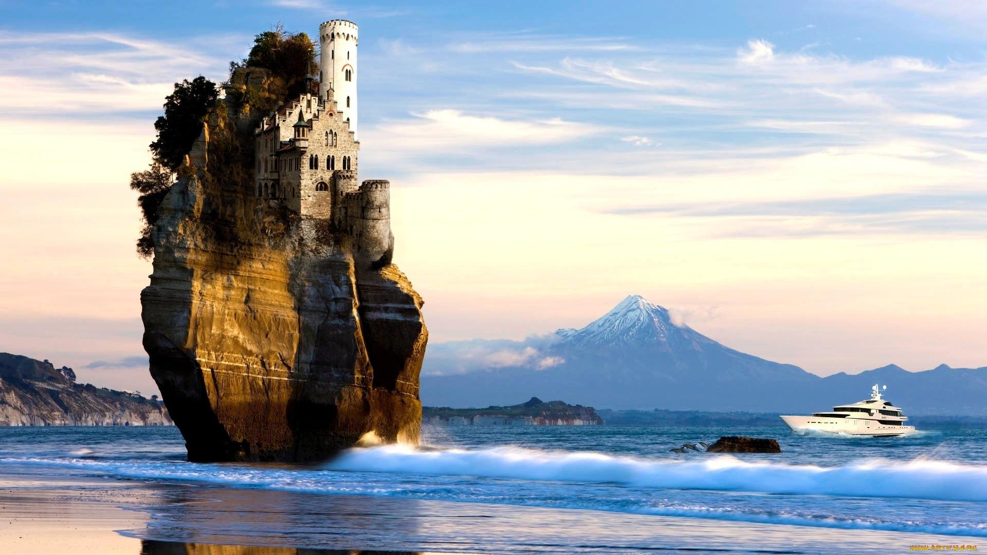 замок у моря без смс