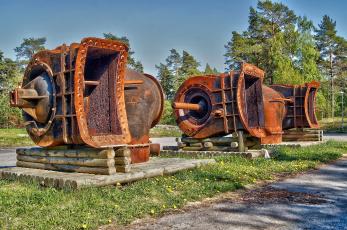 Картинка разное развалины руины металлолом железо