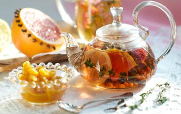 Картинка еда напитки Чай фруктовый чай
