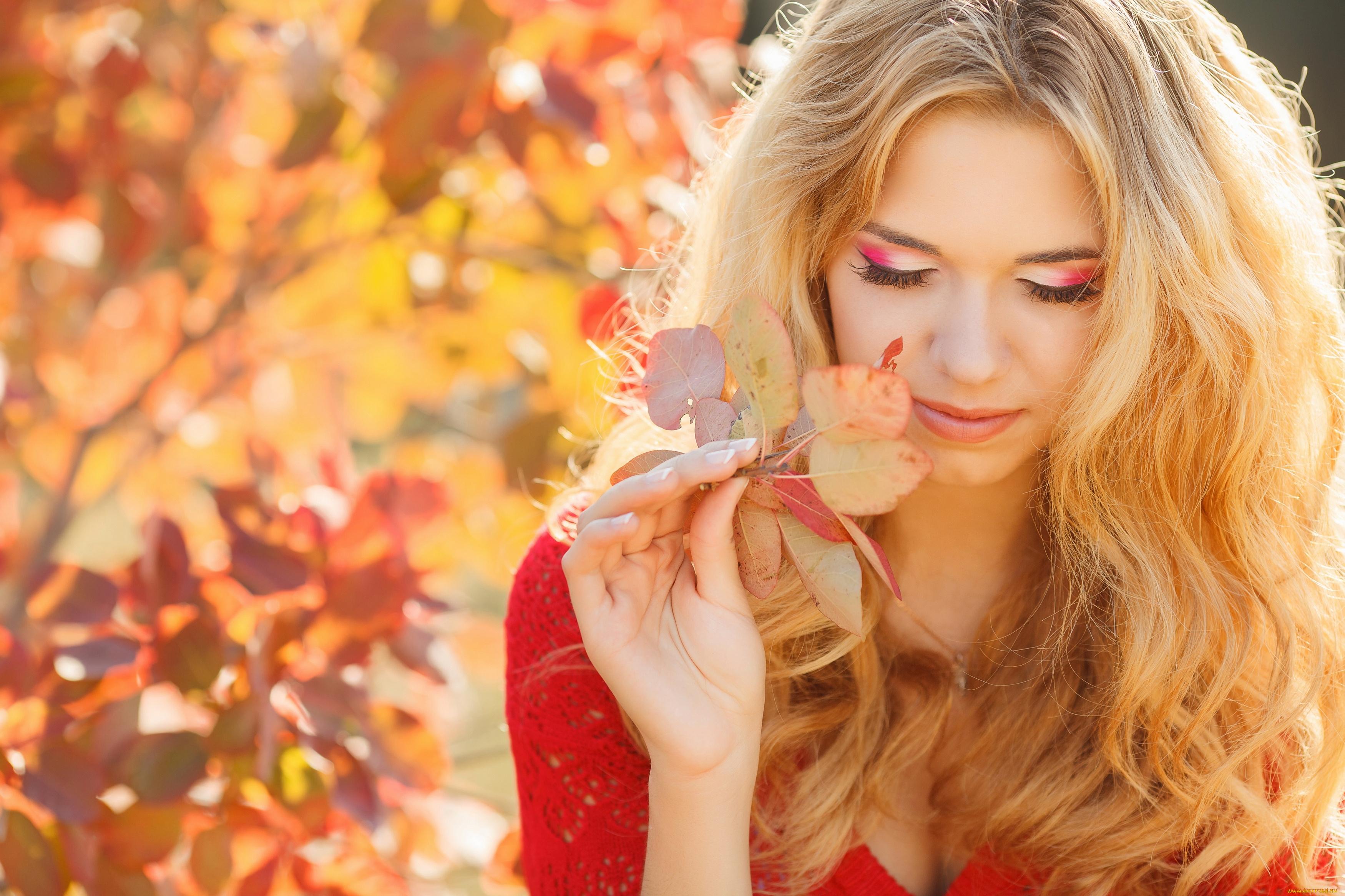Картинки девушка и осень красивые, скрапбукингу открытка