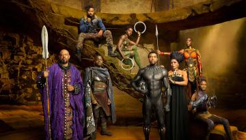 обоя кино фильмы, black panther, black, panther