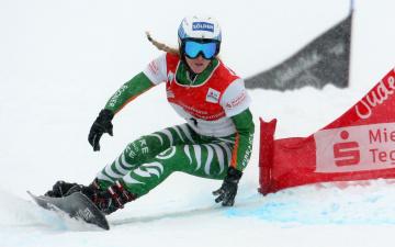 Картинка amelie kober спорт сноуборд слалом