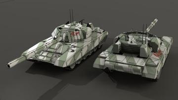обоя техника, 3d, танки