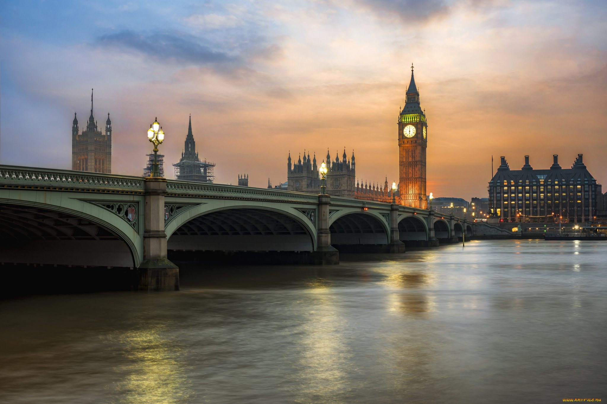 город лондон высота закат река темза без смс