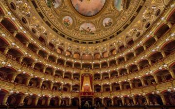 обоя интерьер, театральные,  концертные и кинозалы, италия, сицилия, театр, массимо, беллини, катания, опера