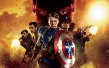 обоя captain, america, the, first, avenger, кино, фильмы