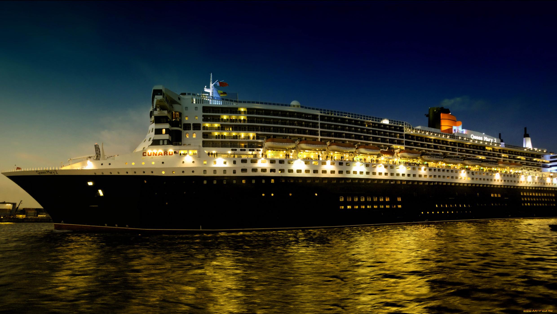 Корабль Queen Mary 2  № 3495298 загрузить