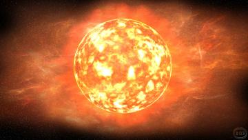 обоя космос, солнце