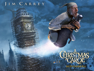 Картинка рождественская история мультфильмы christmas carol