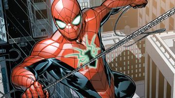обоя рисованное, комиксы, spider-man
