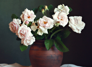 Картинка цветы розы букет
