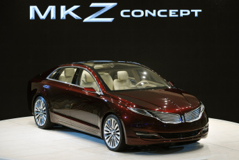 обоя lincoln mkz concept naias 2012, автомобили, lincoln, 2012, naias, concept, mkz