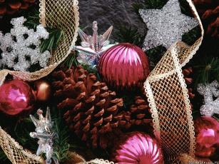 Картинка праздничные украшения