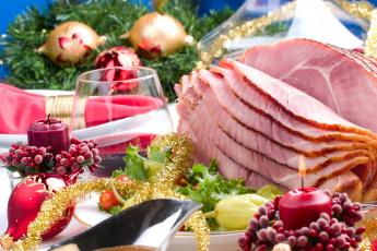Картинка праздничные угощения еда