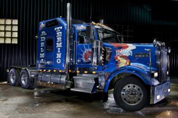 Картинка kenworth автомобили грузовые truck company автобусы сша