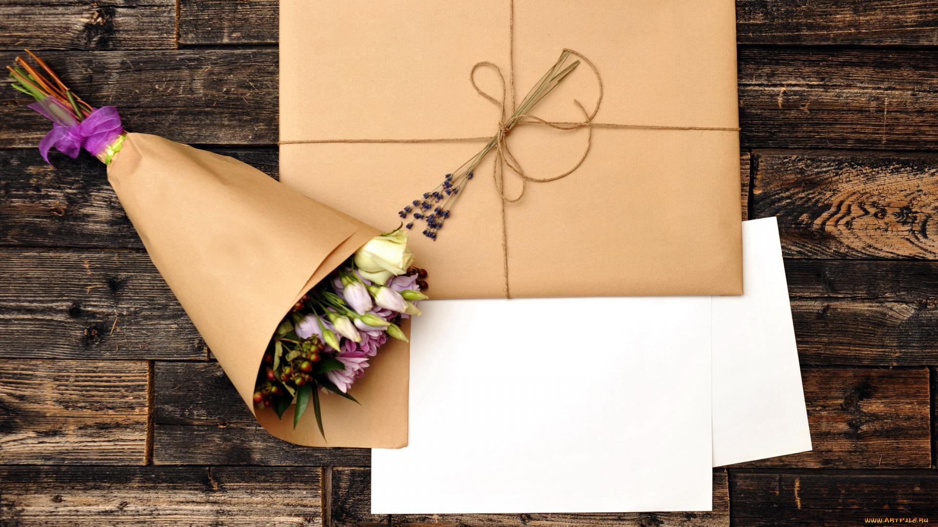 Как оригинально подписать открытку к букету цветов, женские