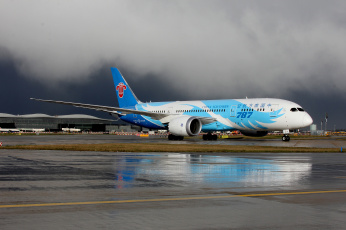Картинка boeing+787-8+dreamliner авиация пассажирские+самолёты авиалайнер