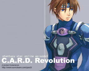 Картинка phantasy star online episode revolution видео игры
