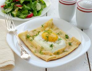 Картинка еда Яичные блюда яичница блин