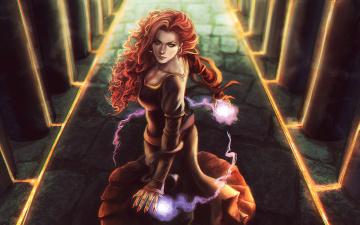 Картинка фэнтези маги магия