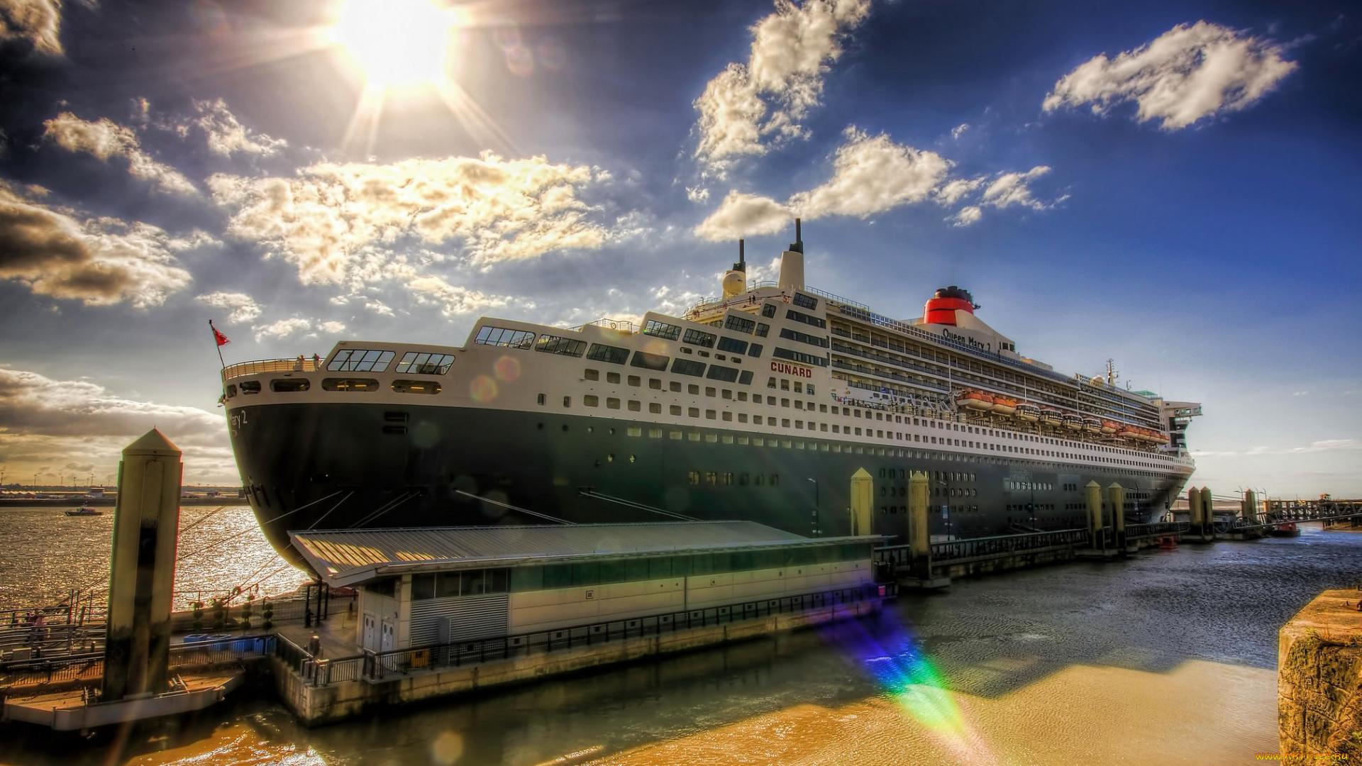 Корабль Queen Mary 2  № 3495272 без смс