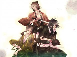 Картинка аниме hakuouki shinsengumi kitan