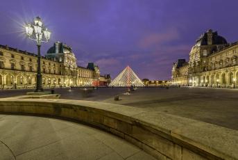 обоя города, париж , франция, france, париж, paris, музей, лувр