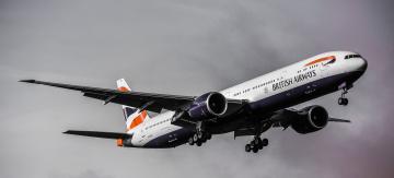 Картинка boeing+777 авиация пассажирские+самолёты полет небо авиалайнер
