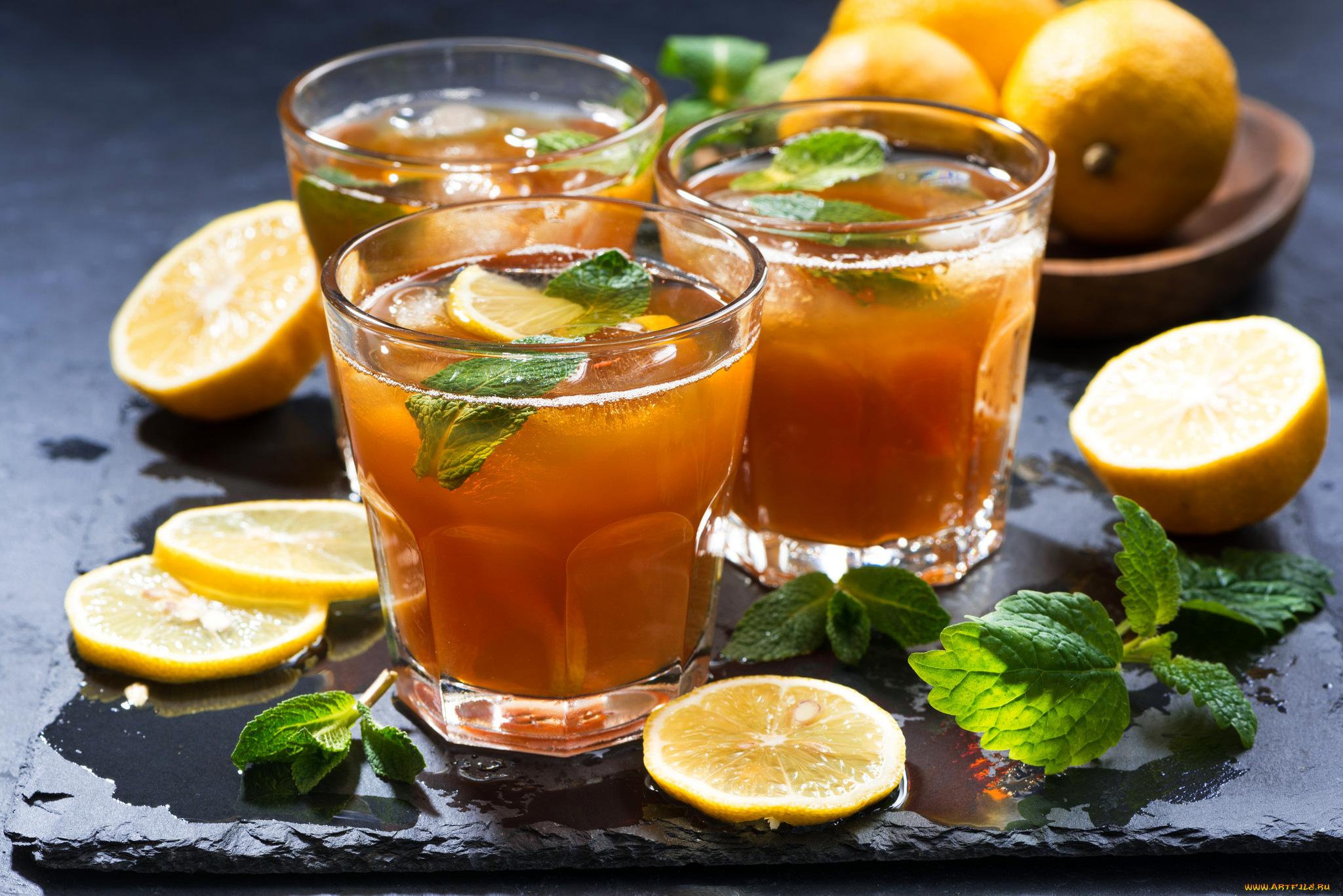 еда чай лимон мята eda tea lemon flicking  № 676176 загрузить