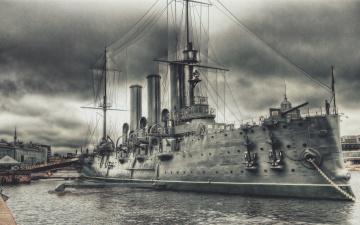 обоя корабли, рисованные, крейсер, аврора, боевой, революция, ленинград, санкт-петербург