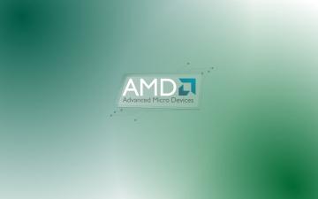 обоя компьютеры, amd, фон, логотип