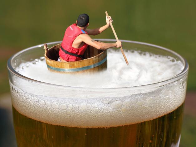 Обои картинки фото юмор и приколы, пиво