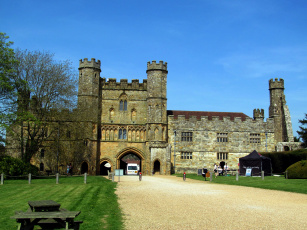 обоя battle abbey gatehouse, battle, sussex, uk, города, - католические соборы,  костелы,  аббатства, abbey, gatehouse