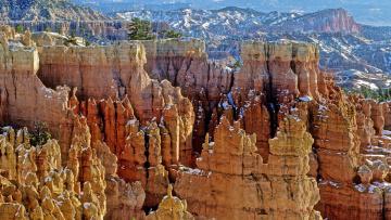 Картинка брайс каньон природа горы юта сша