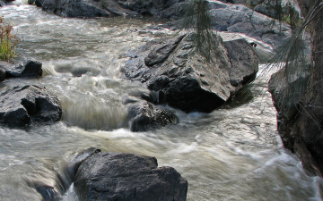 Картинка природа реки озера вода камни