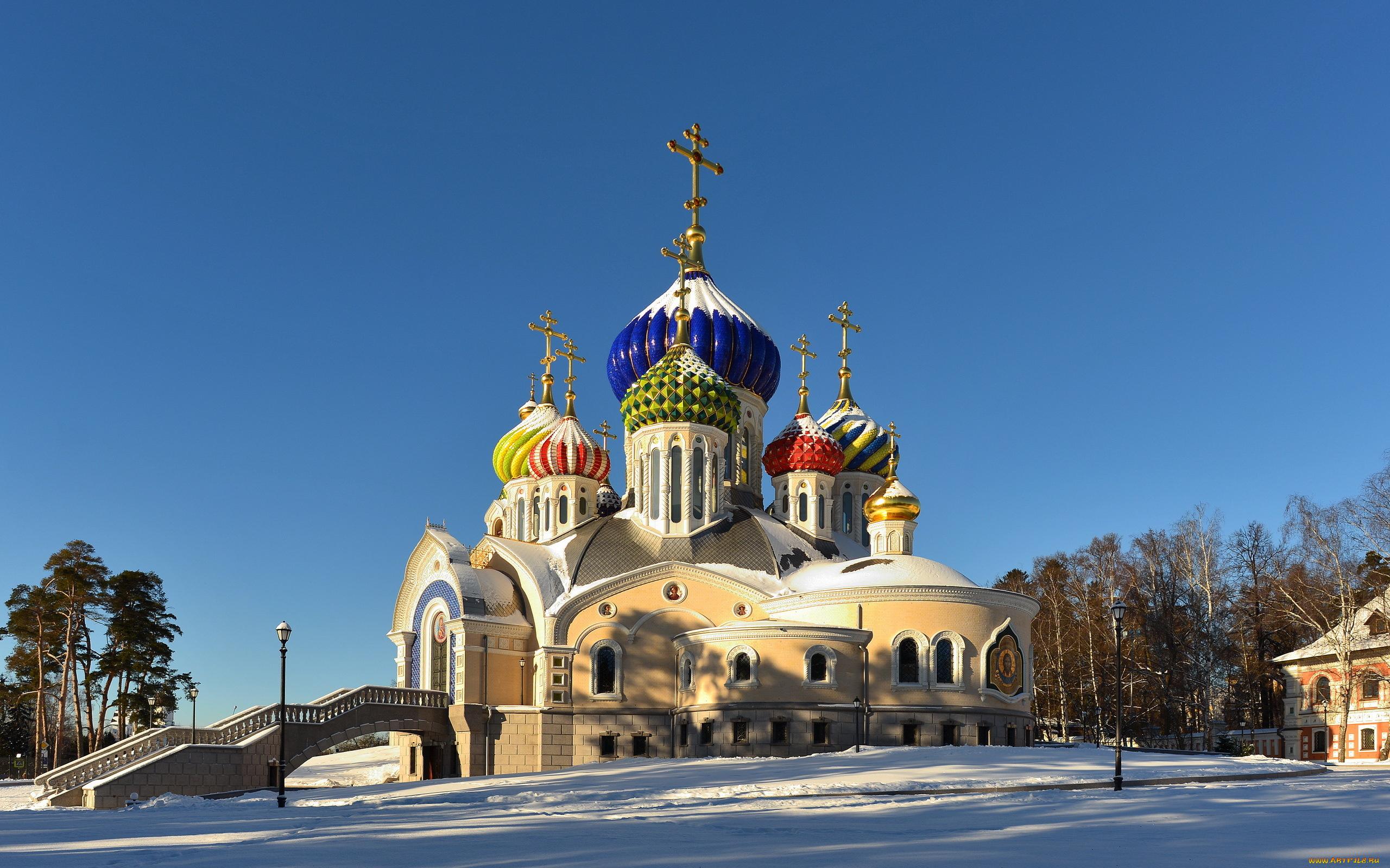 архитектура страны Церковь Москва Россия  № 2449674  скачать