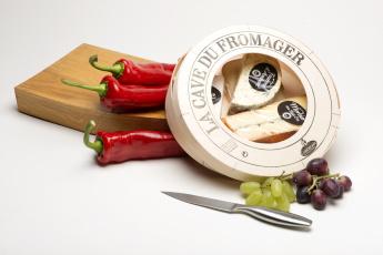 Картинка еда натюрморт сыр виноград перец