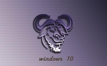 обоя компьютеры, windows  10, логотип, фон