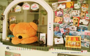 обоя календари, игрушки, маски
