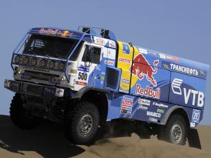 Картинка спорт авторалли russia rally dakar 4326-9 vk камаз вк грузовик truck kamaz