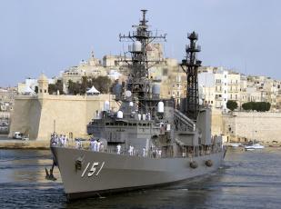 обоя asagiri, корабли, крейсеры,  линкоры,  эсминцы, вмф