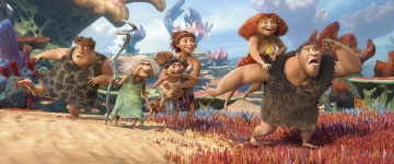 обоя мультфильмы, the croods, caveman, family, the, croods, 2, vegetation