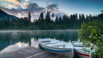 обоя корабли, лодки,  шлюпки, switzerland, деревья, додки, озеро, lake, cresta
