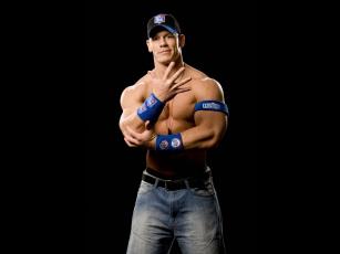Картинка john cena мужчины торс мышцы кепка джинсы ремень