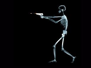 обоя рентген, 06, разное, кости