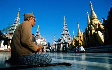 обоя города, буддистские, другие, храмы
