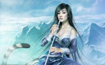 Картинка фэнтези девушки